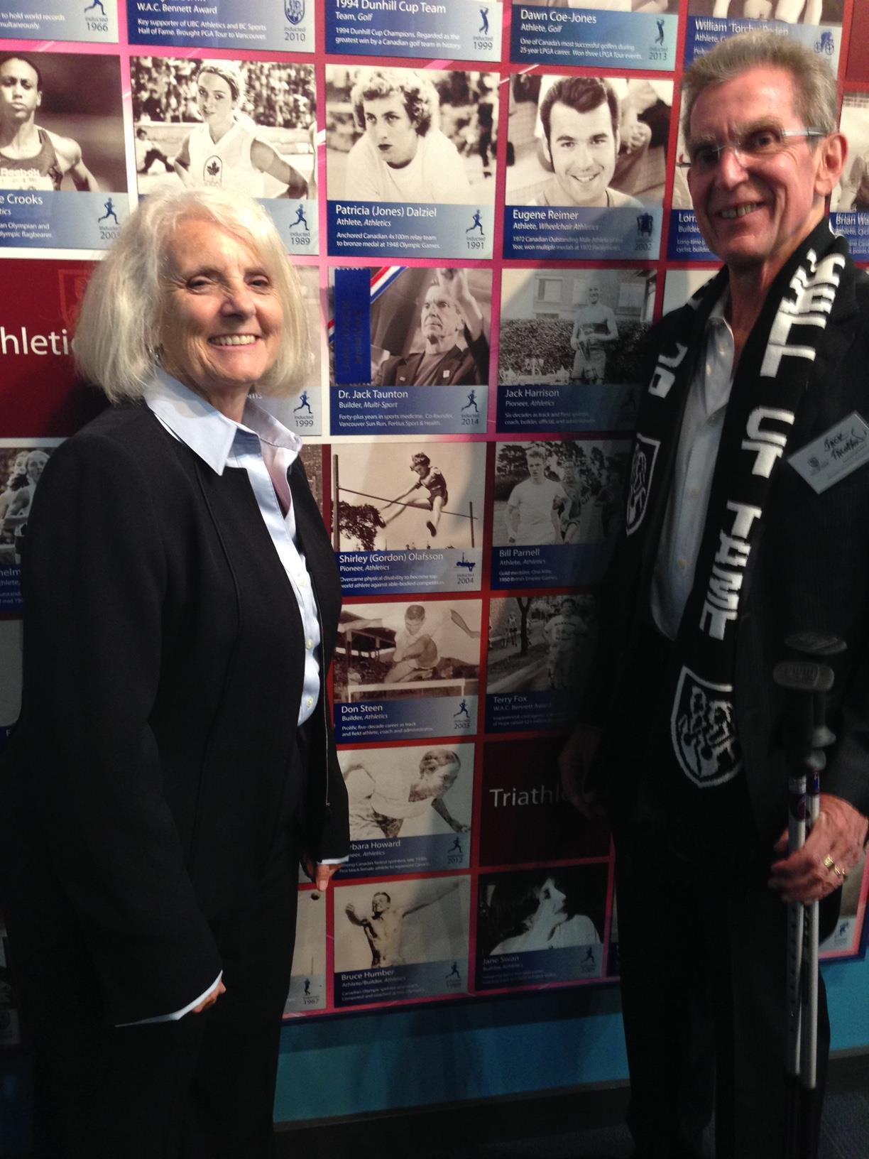 Cheryl and Jack Taunton